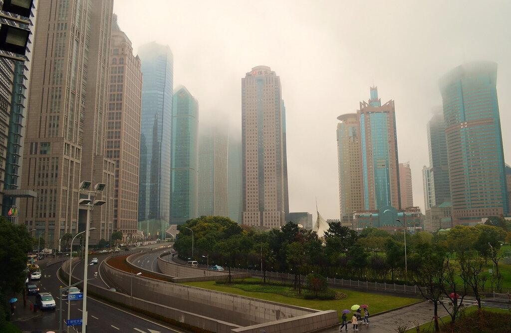9. Отдых в Китае. Прогулки по Шанхаю. Небоскребы