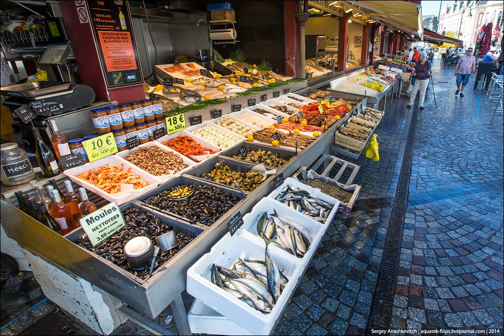 Рыбный рынок в Трувиле