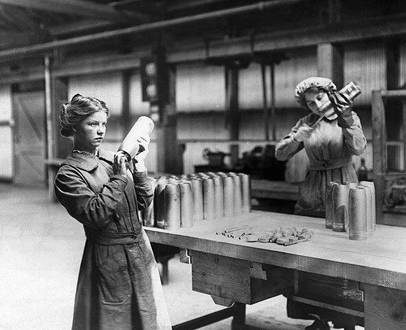 Women Making Shells