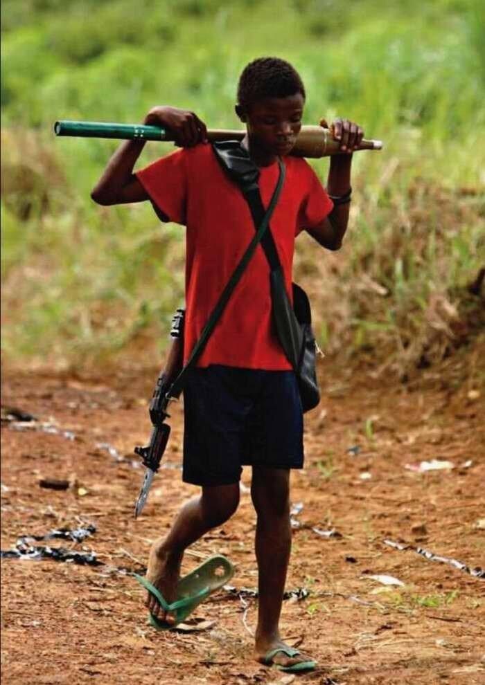 Дети солдаты - Сьерра Леоне