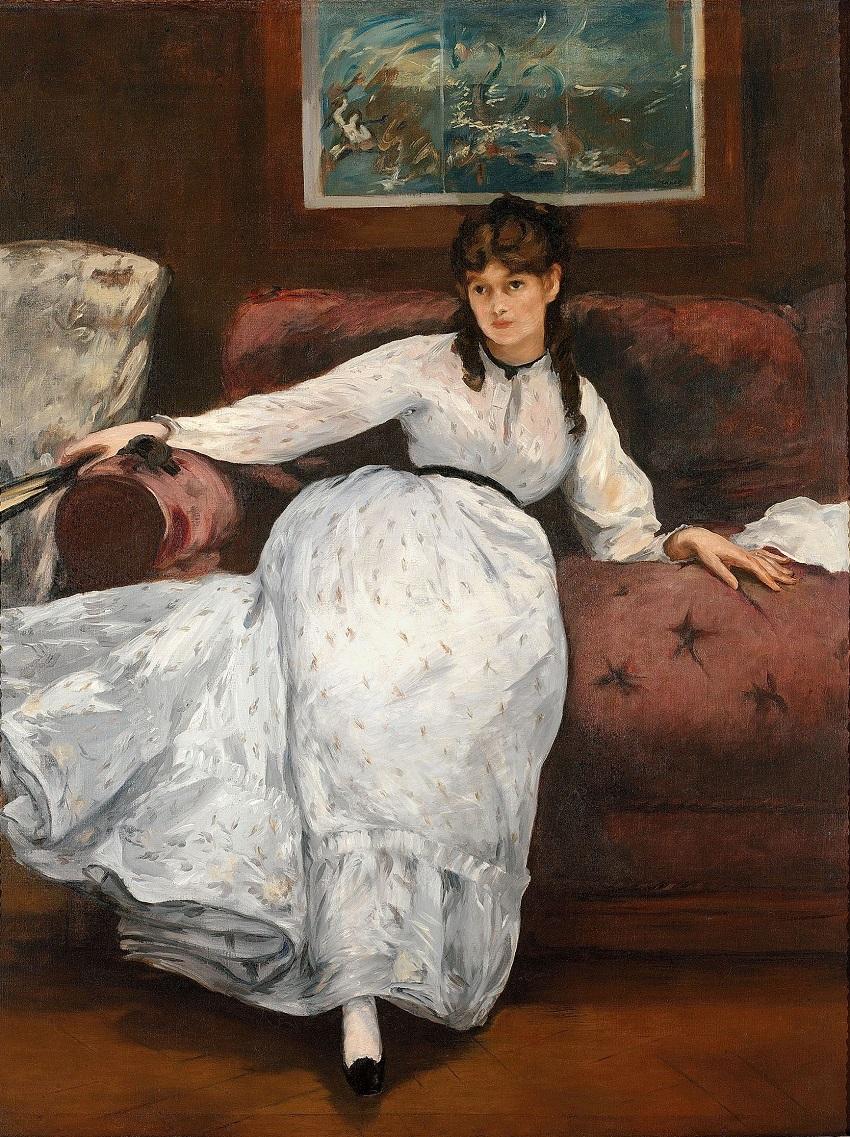Édouard Manet  (1832–1883) портрет Берты Моризо