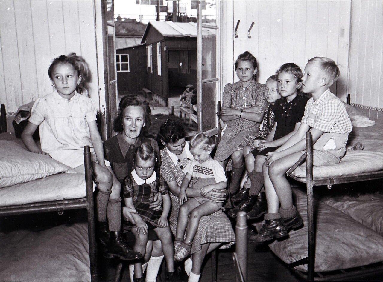 1947. Беженцы из Восточной Германии