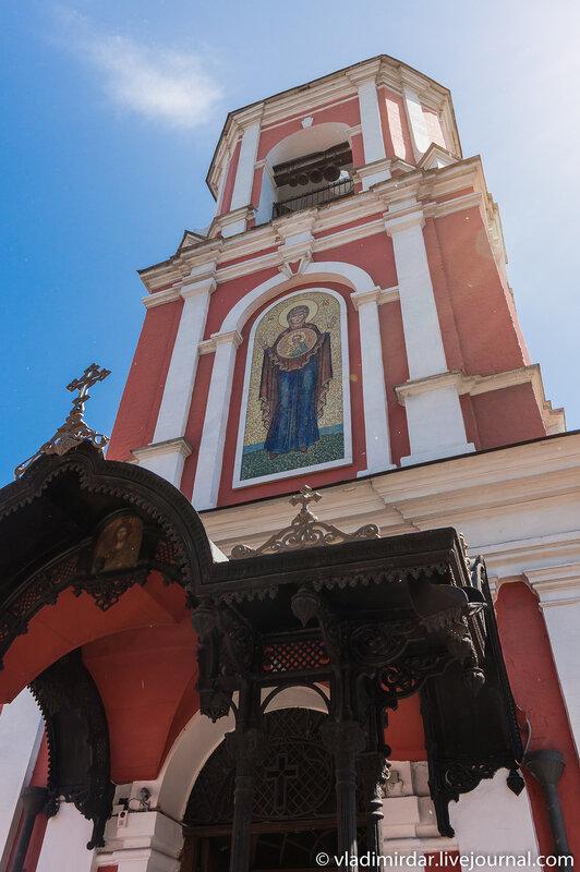Колокольня Храма иконы Божьей Матери Знамение в Переяславской Слободе