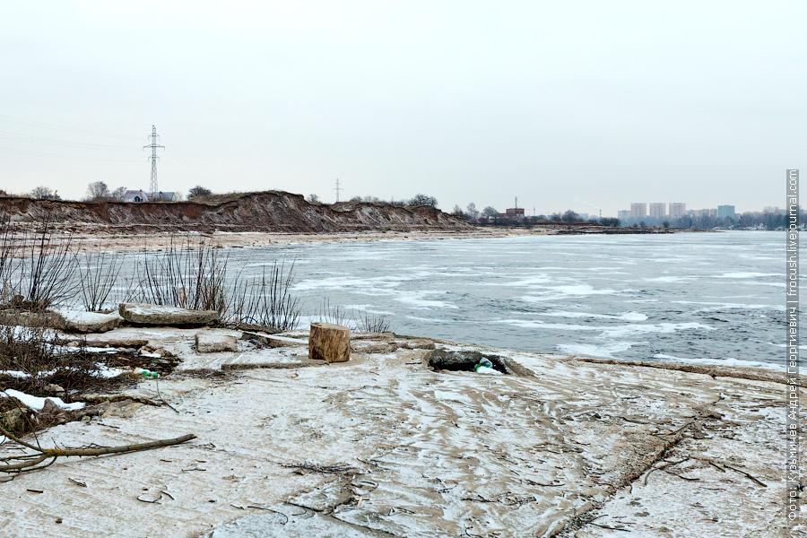 Волга ниже Иваньковской ГЭС