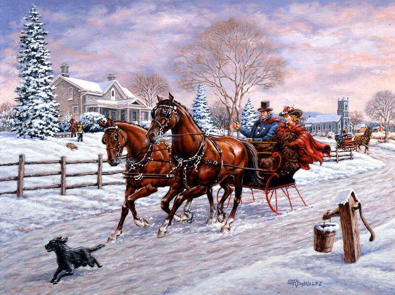 essay on joys of winter season