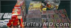 Гражданин Румынии хранил дома пиротехнические материалы
