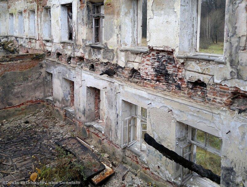 Усадьба Гребнево. Внутренние помещения восточного флигеля.