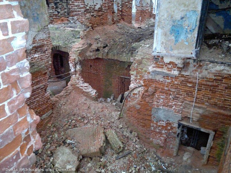 Усадьба Гребнево. Внутренние помещения дворца.