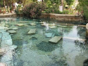 Бассейн Клеопатры в Турции