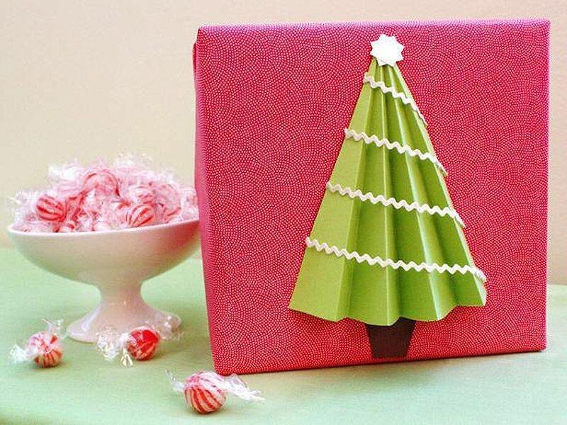 Как красиво сделать подарок на новый год своими руками