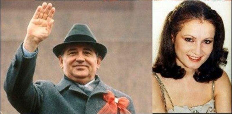 София Ротару и главы государств (8 фото)