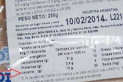 Сеть супермаркетов «порадовала» покупателей «пирожными с кокаином»