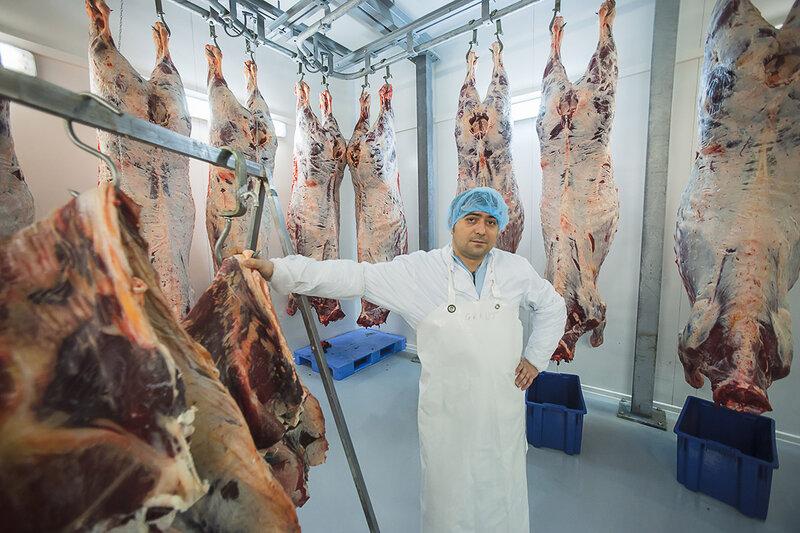 Камера сухой выдержки (автолиза) мяса