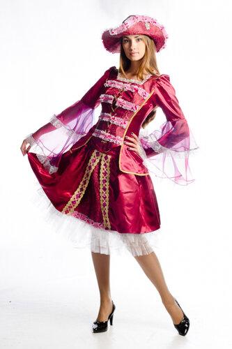 Женский карнавальный костюм Миледи