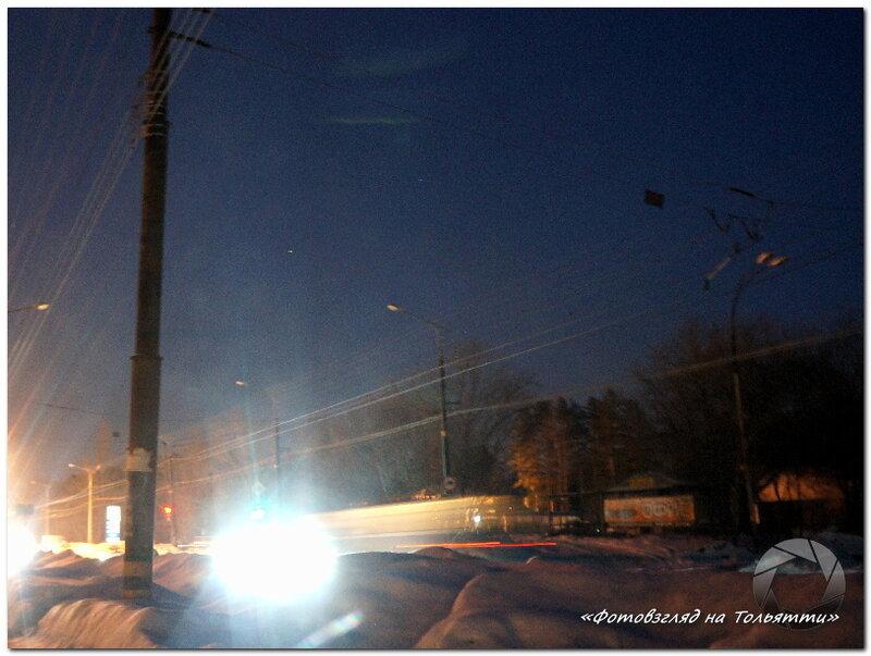 В Тольятти не работает уличное освещение