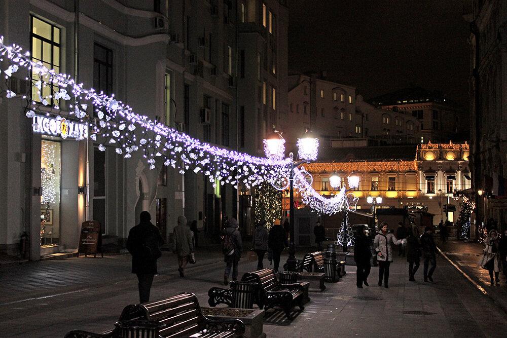Прогулка по вечерней Москве