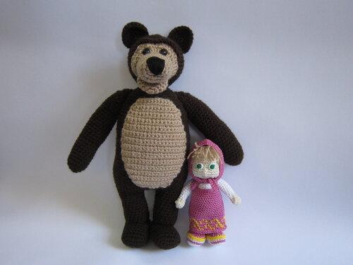 маша и медведь будем знакомы