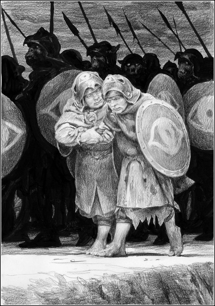 Tolkien Ill Denis Gordeev Book Graphics