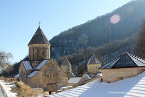 Армения. Монастыри Агарцин и Гошаванк.