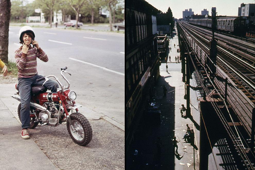 Америка, Нью-Йорк, 1970-е годы.
