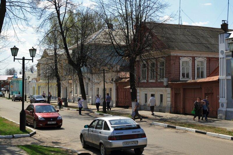 Городец, дома по улице Ленина