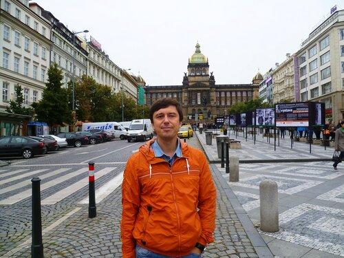 Прага, Чехия - Вацлавская площадь (Prague, Czech Republic - Wenceslas Square)