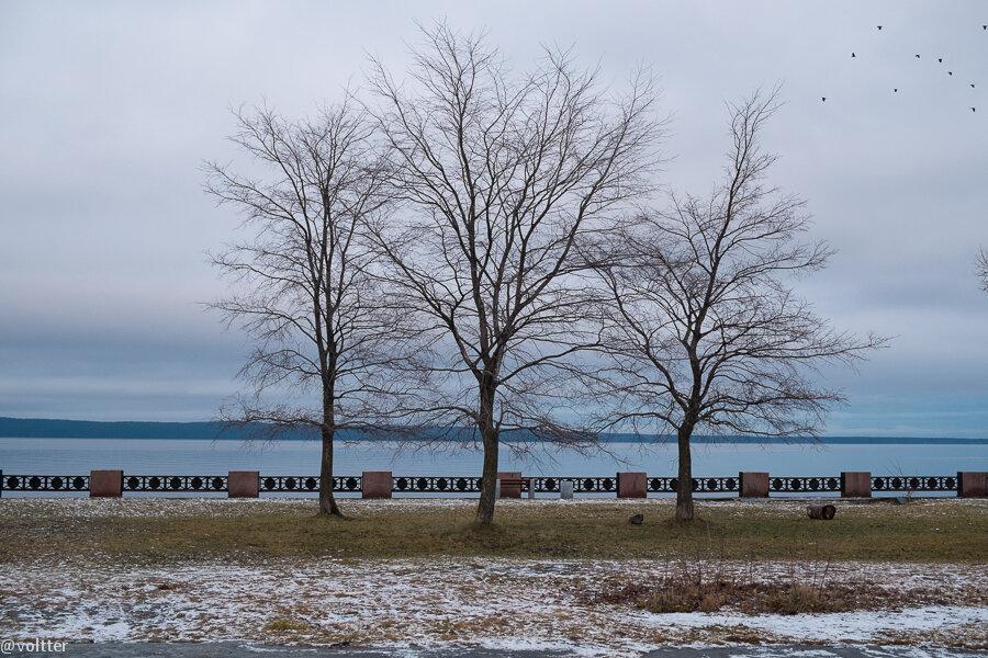Набережная Петрозаводска, Онежское озеро