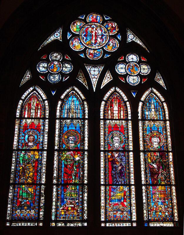 Страсбургский собор. Витражи