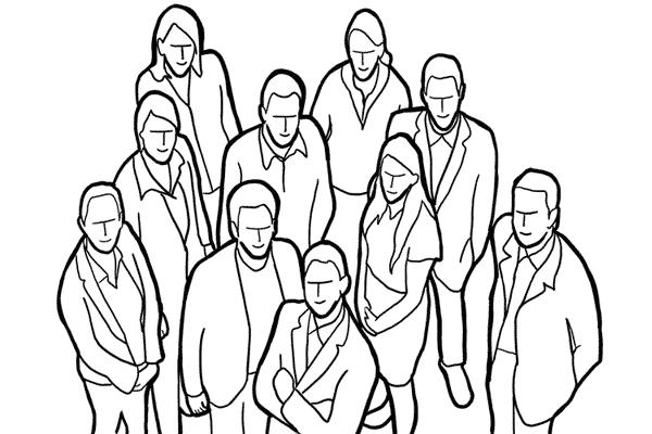 Позирование: позы для групповых портретов 3