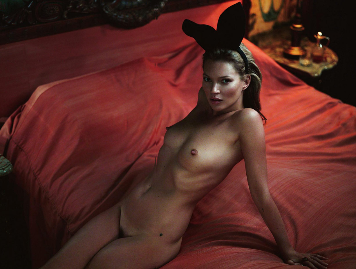 Кейт Мосс в юбилейном номере журнала Playboy / Kate Moss by Mert & Marcus in Playboy's 60th Anniversary Issue / january-february 2014