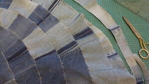 Джинсовая юбка8