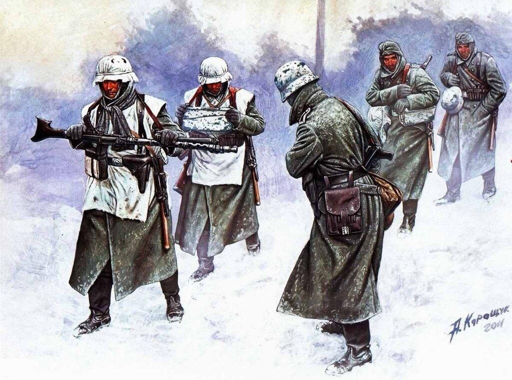 Немецкая пехота (Андрей Каращук)
