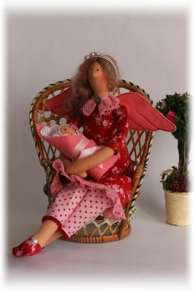 кукла с младенцем