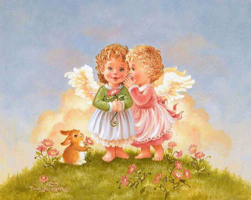 Инструкциями, открытки дети и ангелы