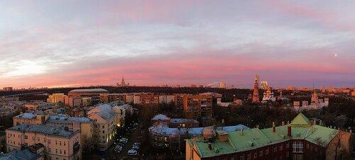 Осеннее утро в Москве