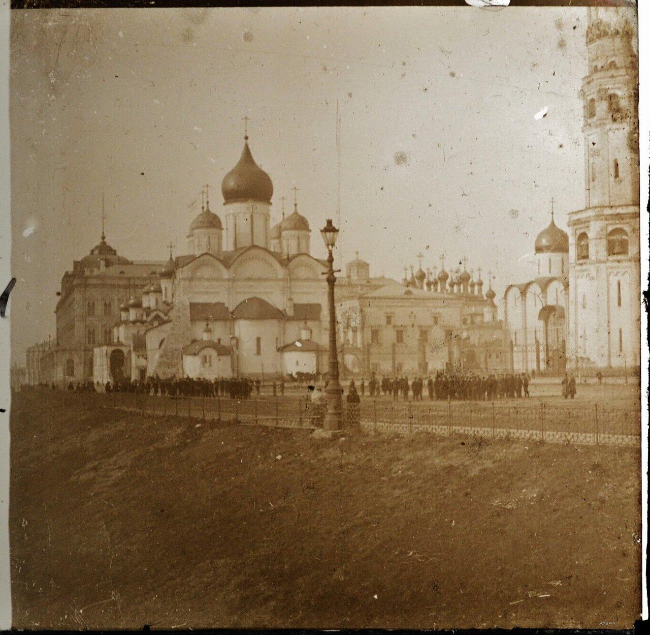 Москва. В Кремле