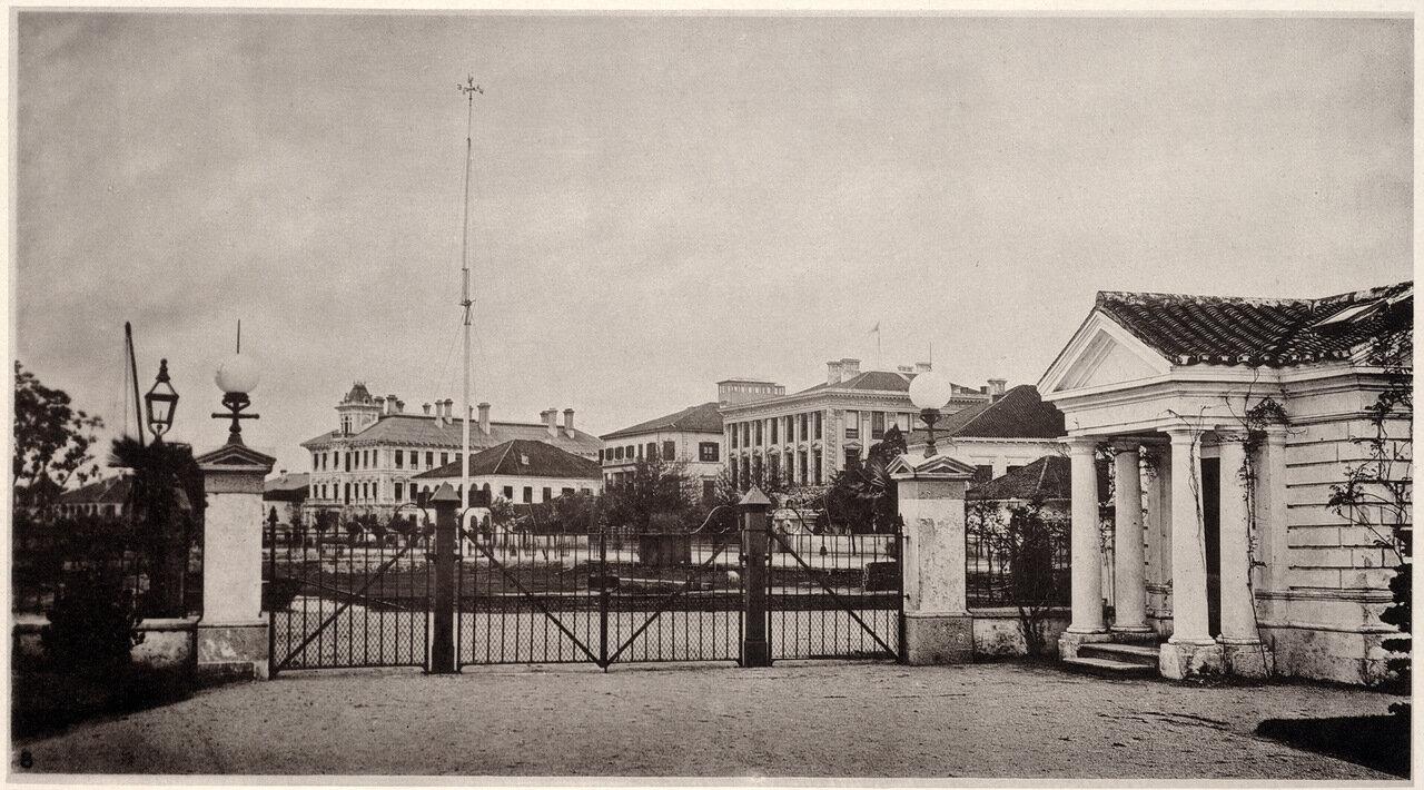Шанхай. Часть набережной в 1872