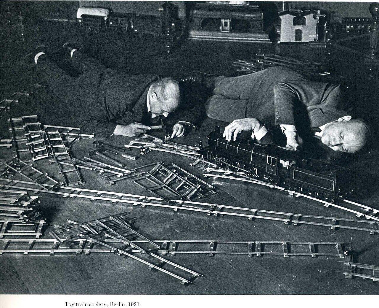 1931. Общество игрушечных поездов. Берлин