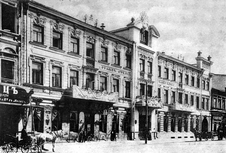 Гостиница Гранд-Отель, Дворянская улица