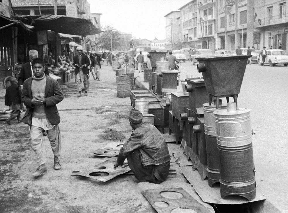 Афганистан. Кабул, уличная сцена