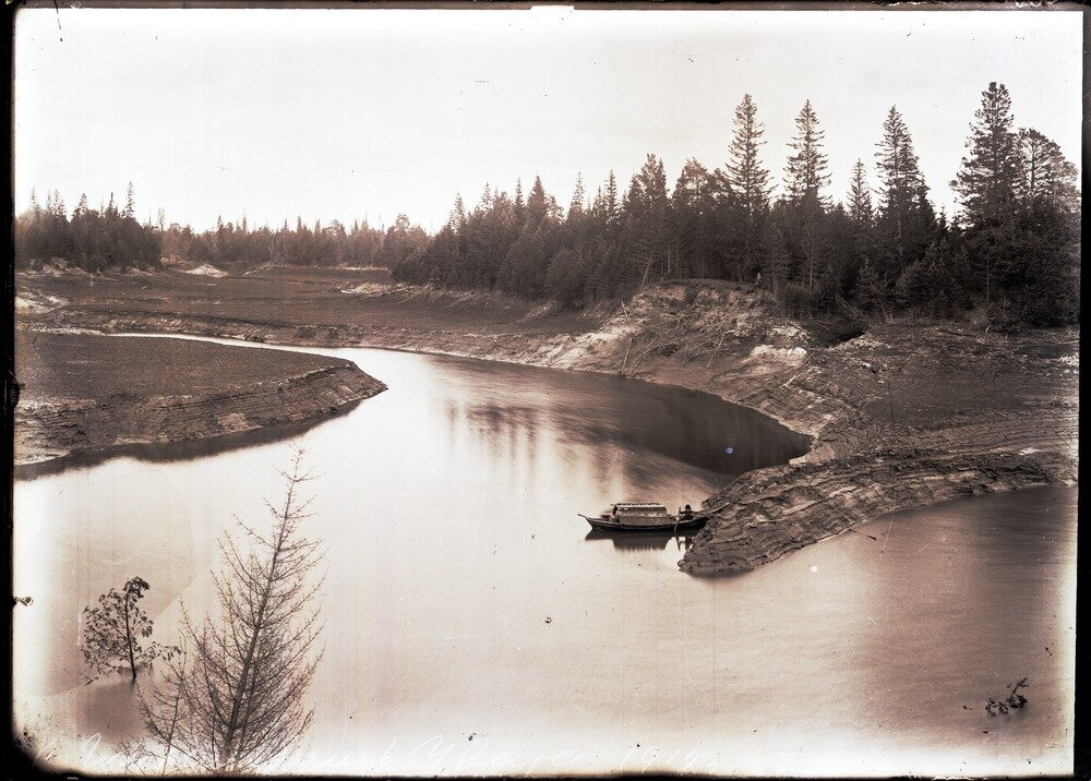1912. Село Уват, река Глухая близ Увата