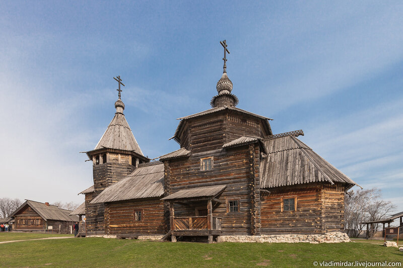 Suzdal - Museum of Wooden Architecture or the Ghost of the Dmitrievsky Pechora Monastery, Museum, Church,churches, here, Suzdal, Suzdal, Dmitrievsky, now, like, wooden, this, place, very, territory, district, monastery, new, Here, its