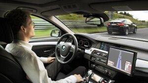 BMW заинтриговала «почти самоуправляемой» машиной