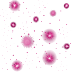 Pink Glowing Stars  2 PNG 1000x1000.png