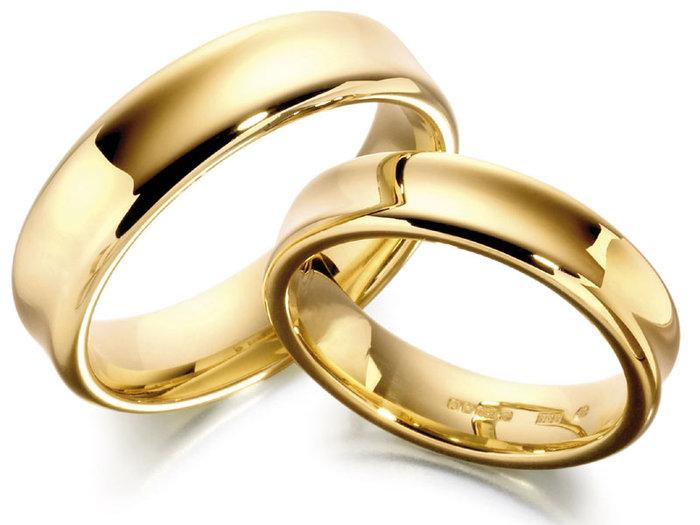Кольцо золотое женское обручальное