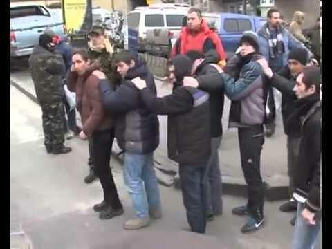 """Хода ганьби """"Тітушок"""" 21.01.2014 (видео)"""