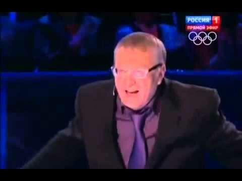 Жириновский - Майдан пахнет говном (1 видео)