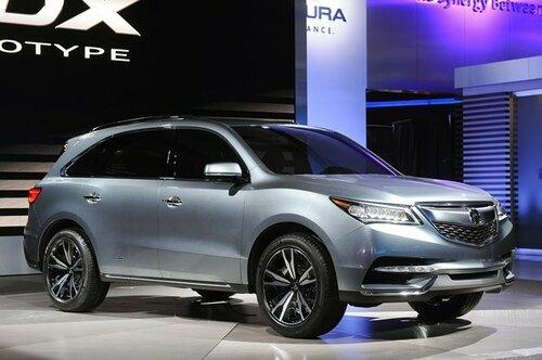 Acura RDX будет иметь одну комплектацию