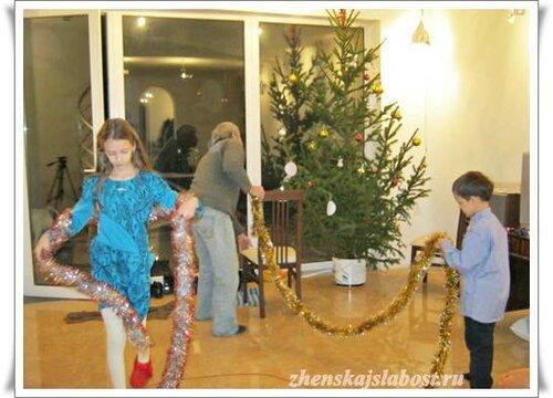 внуки готовятся к празднику