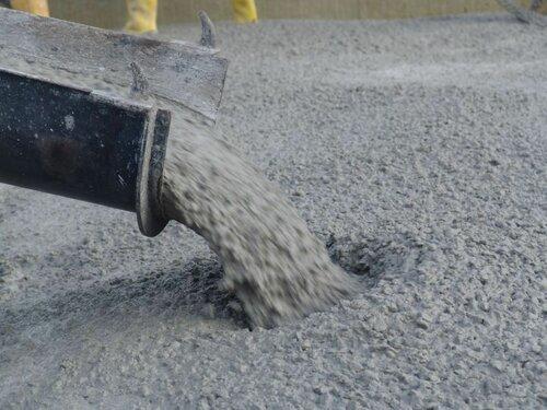 бетон с щебнем
